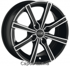 OZ Lounge 8 6,0J14 4x108 ET24 DIA75 Matt Black + Dianond Cut
